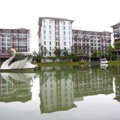 Отель Ratchy Condo Банг-Саре приотельная территория фото 2