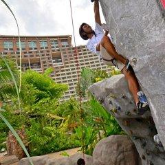 Отель Centara Grand Mirage Beach Resort Pattaya спортивное сооружение