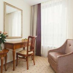 Гостиница Звёздный WELNESS & SPA Семейный люкс с двуспальной кроватью фото 15