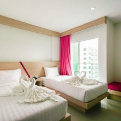 SunSeaSand Hotel 3* Стандартный номер с 2 отдельными кроватями фото 2