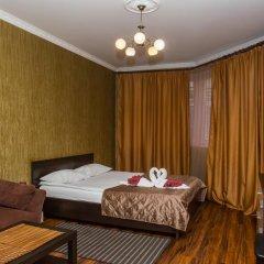 Мини-Отель Уют Стандартный семейный номер с различными типами кроватей фото 8