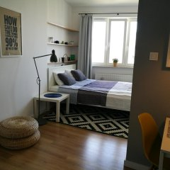 Отель Studio Польша, Варшава - отзывы, цены и фото номеров - забронировать отель Studio онлайн комната для гостей фото 4
