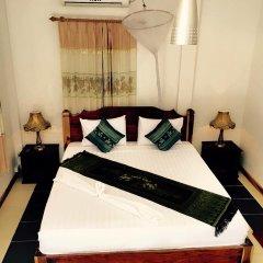 Отель Villa Oasis Luang Prabang 3* Улучшенный номер с двуспальной кроватью фото 5