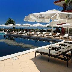 Отель Heaven Lux Apartments Болгария, Солнечный берег - отзывы, цены и фото номеров - забронировать отель Heaven Lux Apartments онлайн бассейн фото 2