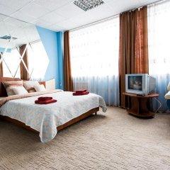 Гостиница Америго 3* Стандартный номер с двуспальной кроватью фото 3