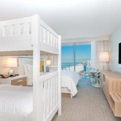 Отель Wyndham Grand Clearwater Beach 4* Номер Делюкс с различными типами кроватей фото 7