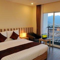 Begonia Nha Trang Hotel 3* Номер Делюкс с различными типами кроватей фото 14