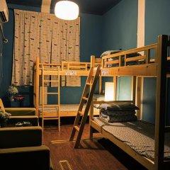 Chengdu Steam Hostel Кровать в общем номере с двухъярусной кроватью фото 3