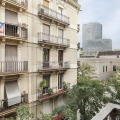 Апартаменты Habitat Apartments Barceloneta Барселона балкон