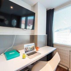 Отель Forenom Aparthotel Helsinki Kamppi Финляндия, Хельсинки - 1 отзыв об отеле, цены и фото номеров - забронировать отель Forenom Aparthotel Helsinki Kamppi онлайн удобства в номере фото 2