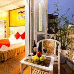 Hanoi Amanda Hotel 3* Номер Делюкс с различными типами кроватей фото 4