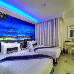 Отель Aspira Skyy Sukhumvit 1 2* Улучшенный номер с различными типами кроватей фото 3