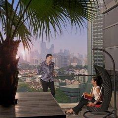 Отель Pan Pacific Serviced Suites Orchard, Singapore Сингапур, Сингапур - отзывы, цены и фото номеров - забронировать отель Pan Pacific Serviced Suites Orchard, Singapore онлайн приотельная территория фото 2