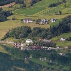 Отель Nesset Fjordcamping спортивное сооружение