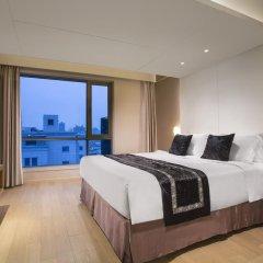 Отель Citadines Central Xi'an Представительский номер с различными типами кроватей фото 13