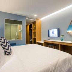 Отель BlueSotel Krabi Ao Nang Beach 4* Улучшенный номер с различными типами кроватей фото 11