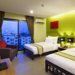 Livotel Hotel Lat Phrao Bangkok 3* Номер Делюкс разные типы кроватей фото 2