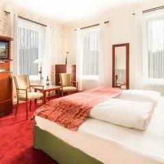 Отель Villa Waldfrieden 3* Стандартный номер с различными типами кроватей фото 4