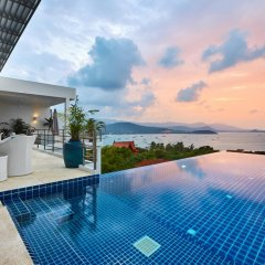 Отель Villa Blanche Таиланд, Самуи - отзывы, цены и фото номеров - забронировать отель Villa Blanche онлайн бассейн фото 3