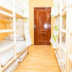 Гостиница Hostels Rus Golovinskiy Кровать в общем номере с двухъярусной кроватью фото 9