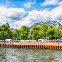 Отель Leonardo Mitte Берлин приотельная территория фото 2