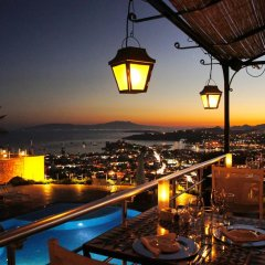 Отель The Marmara Bodrum - Adult Only гостиничный бар