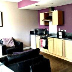 Апартаменты Hot-el-apartments Glasgow Central комната для гостей фото 6