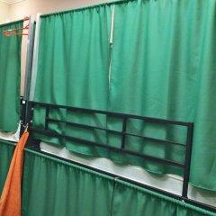 Гостиница Travel Inn Aviamotornaya 2* Кровать в общем номере с двухъярусной кроватью фото 14