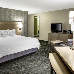 Отель Courtyard Columbus Downtown Стандартный номер с различными типами кроватей