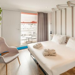 Отель Generator Barcelona Барселона комната для гостей фото 4