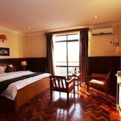 Ayarwaddy River View Hotel 3* Номер Делюкс с различными типами кроватей фото 6