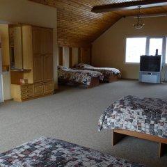 Хостел Красная Поляна Кровать в общем номере с двухъярусными кроватями фото 13