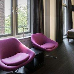 Отель The Manor Amsterdam 4* Улучшенный номер с различными типами кроватей фото 3