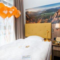 Hotel Lielupe by SemaraH 4* Стандартный семейный номер с двуспальной кроватью фото 2