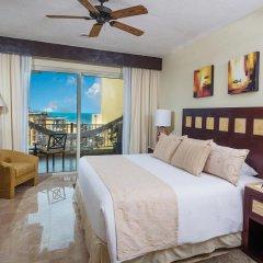 Отель Villa del Palmar Cancun Luxury Beach Resort & Spa Мексика, Плайя-Мухерес - отзывы, цены и фото номеров - забронировать отель Villa del Palmar Cancun Luxury Beach Resort & Spa онлайн комната для гостей