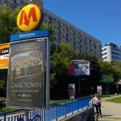 Отель AdMatch Niepodleglosci Rooms Metro Варшава городской автобус