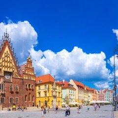 Отель Scandic Wroclaw пляж