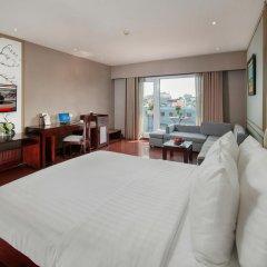 Quoc Hoa Premier Hotel 4* Люкс разные типы кроватей фото 3