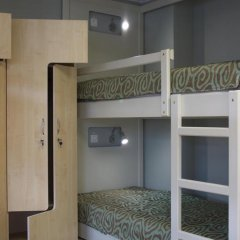 Гостиница Посадский 3* Кровать в мужском общем номере с двухъярусными кроватями фото 49
