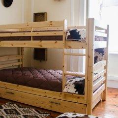 Music Hall Lisbon Hostel Стандартный номер с различными типами кроватей фото 2