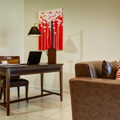 Abidos Hotel Apartment, Dubailand 4* Улучшенные апартаменты с различными типами кроватей фото 8