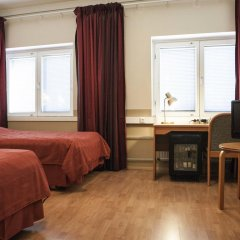 Отель Park Hotel Käpylä Финляндия, Хельсинки - 14 отзывов об отеле, цены и фото номеров - забронировать отель Park Hotel Käpylä онлайн комната для гостей фото 4