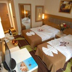 Oba Star Hotel & Spa - All Inclusive 3* Стандартный номер с различными типами кроватей фото 5