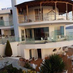 Отель Delfini Албания, Саранда - отзывы, цены и фото номеров - забронировать отель Delfini онлайн приотельная территория
