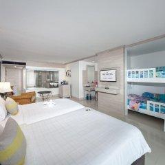 Отель Novotel Phuket Resort 4* Семейный номер Делюкс с 2 отдельными кроватями фото 2