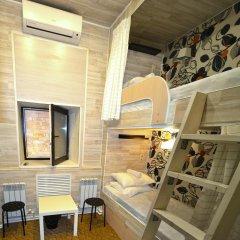 Хостел Казанское Подворье Кровать в мужском общем номере с двухъярусной кроватью фото 13