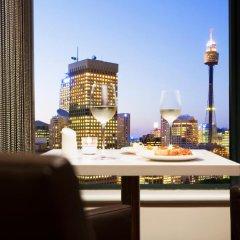 Отель Pullman Sydney Hyde Park балкон