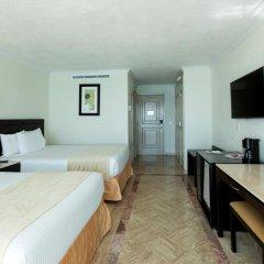 Отель Krystal Cancun Мексика, Канкун - 2 отзыва об отеле, цены и фото номеров - забронировать отель Krystal Cancun онлайн комната для гостей фото 17