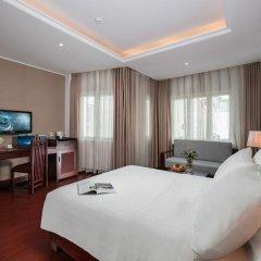 Quoc Hoa Premier Hotel 4* Номер Делюкс двуспальная кровать фото 2