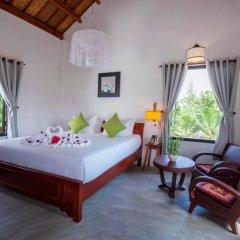 Отель An Bang Garden Homestay 3* Стандартный номер с различными типами кроватей фото 8